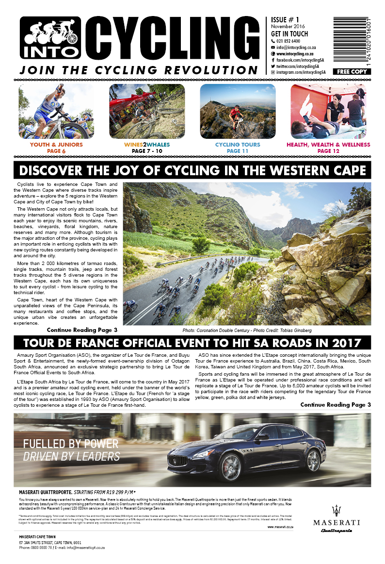 Into Cycling - November 2016