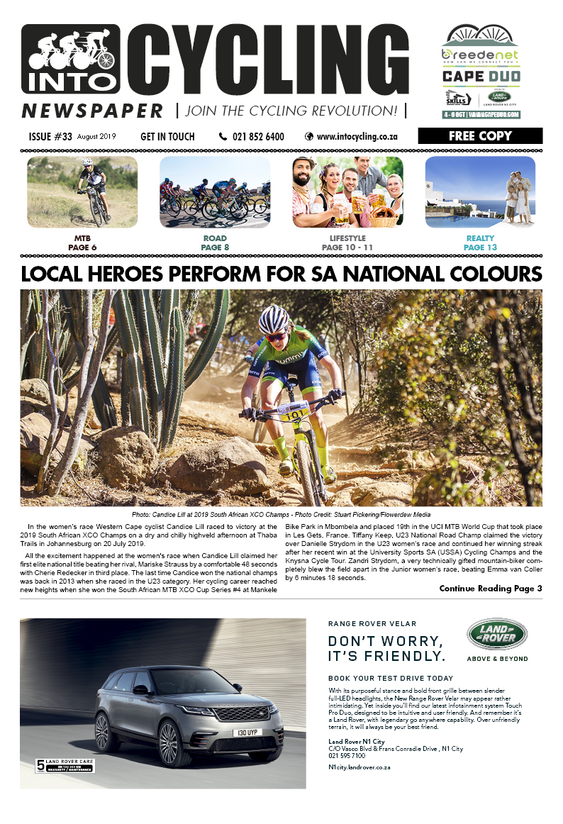 Into Cycling - August 2019